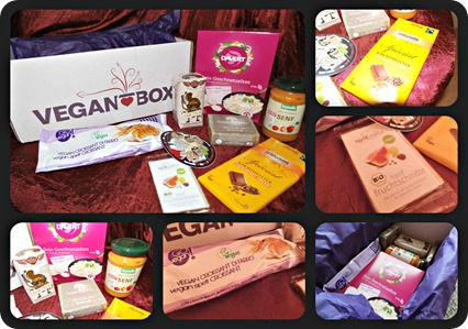 Vegan Box Collage