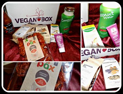 Vegan Box Februar Collage
