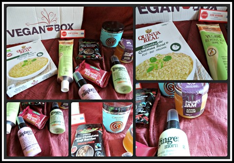 Vegan Box Mai 2015
