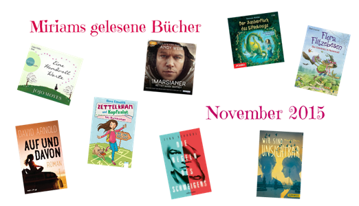 Gelesene Bücher November 2015