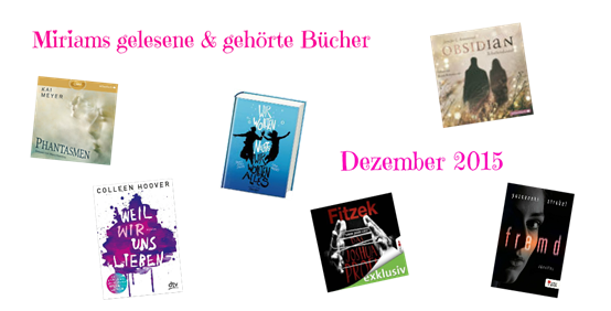 Gelesene Bücher Dezember 2015