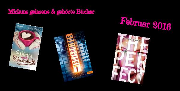 Gelesene Bücher Februar 2016