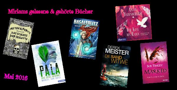 Gelesene Bücher Mai 2016