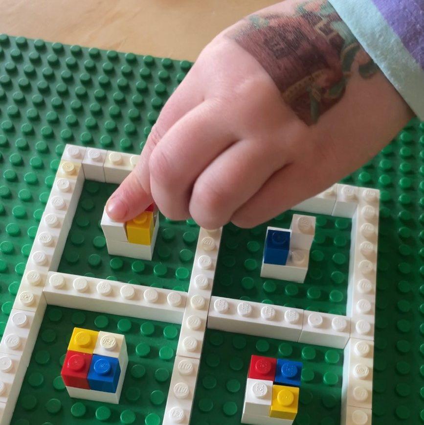 Lernen und Forschen mit Lego - Logisches Denken mit Sudoku